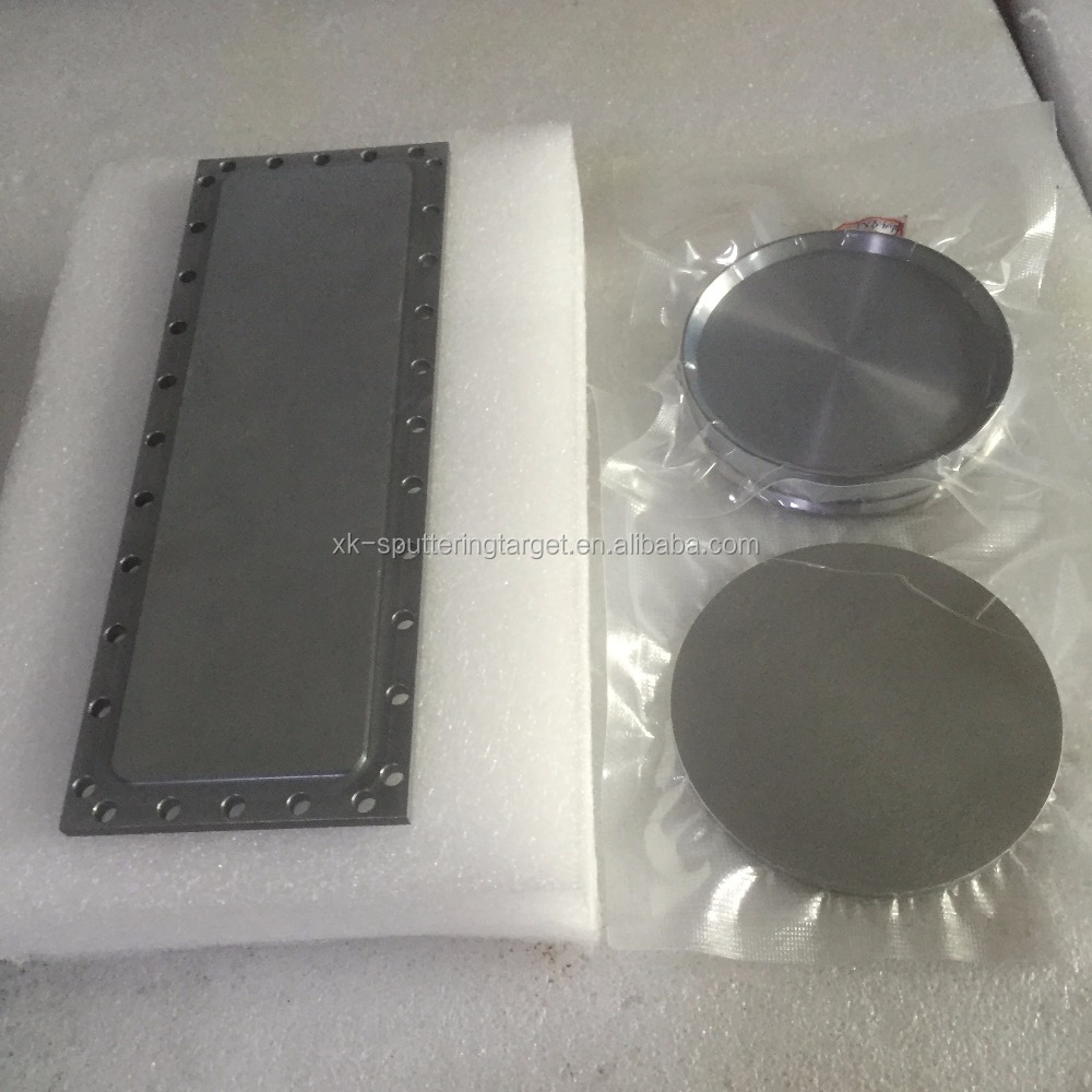 vacuum coating application customize shape 99.9% metal chrome target chrominum/Cr sputter target for negotiable price