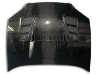 carbon fiber front bonnet car parts for Subaru WRX,STI 2008