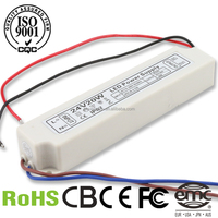 Waterproof led driver IP67 led switch power supply 12v 20W advance led drivers