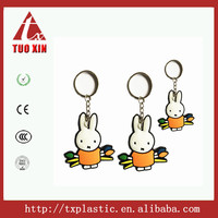 Custom high quality Silicone keychain pvc key chain manufacturer