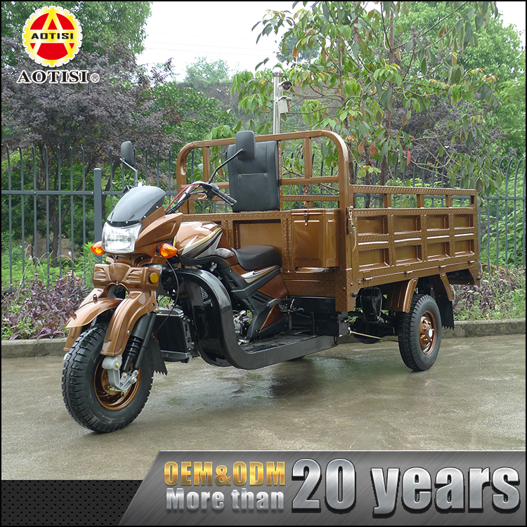 Wholesale indian style 246ML van cargo motorcycle truck 3-wheel tricycle