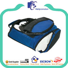 Branded made high quality durable mesh golf shoes bag