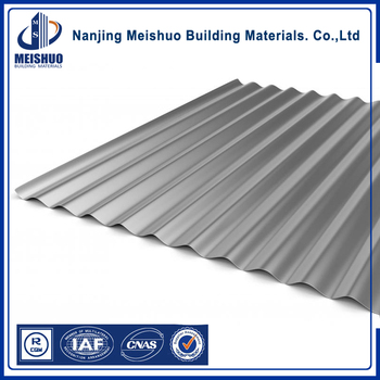 Color painted Cold Rolled Galvanized Corrugated Steel Sheets