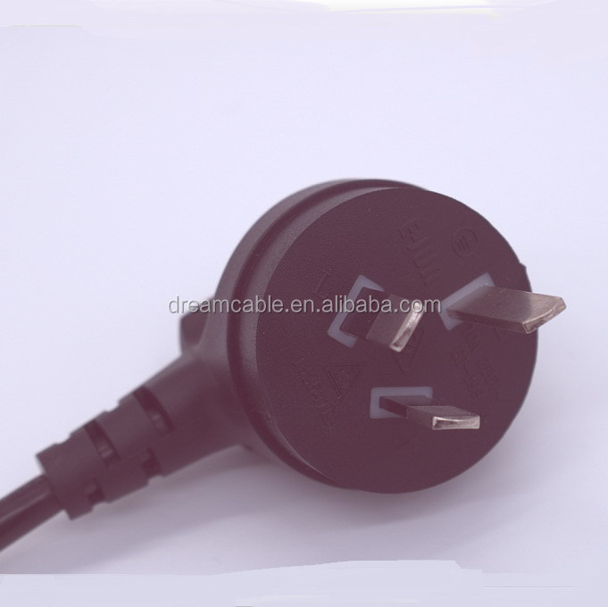 1.5m black SAA australia <strong>power</strong> cord with IEC C5