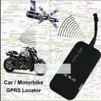 Hot Sale Realtime Car Motorcycle GSM/GPRS/GPS Tracker Quad Band Tracking Device TK110 GPS Locator Google Link Real Time Tracking