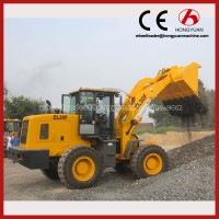 Front Wheel loader with4T loading capacity mini loader attachments