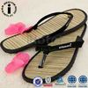 Nice Comfortable Environment Bamboo Flip Flops Slippers Shoes