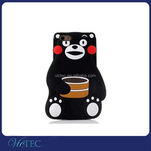 Lovely Cute Korean Bear Rubber for i Phone 6 /6 Plus Silicon Case