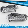AKD Car Styling LED Drl for VW New Polo DRL 2015 Polo LED DRL Signal LED Daytime Running Light Good Quality LED Fog lamp