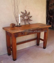 Pure Wooden console table with 2 Drawers