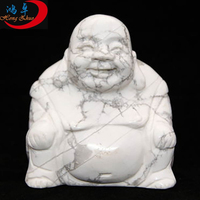 Wholesale hand carved stone buddha head statue gift