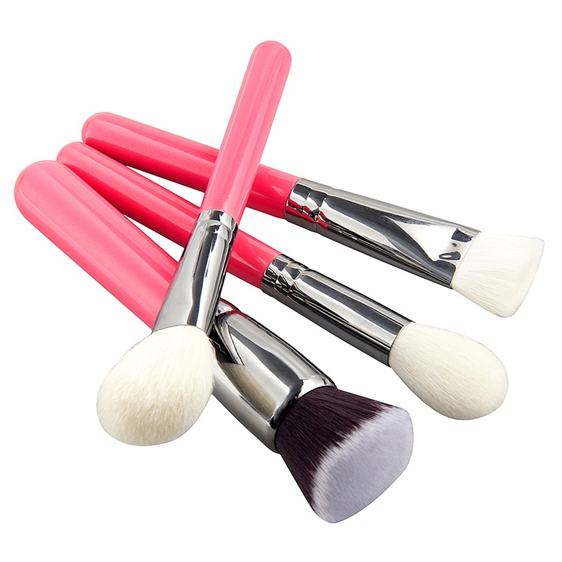 High Quality Red Sliver Makeup Brush Set/9pcs Makeup Brush Set