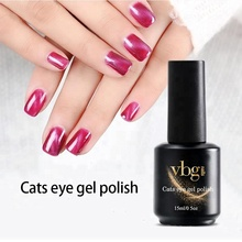 wholesale supplier 15ml 40colors starry sky cat eye gel nail polish top coat base