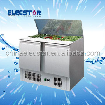 professional equipment.,refrigerated Saladettes for restaurant, Saladette Case with CE and UL Certifications