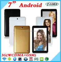 2016 wholesale 7' tablet support two camera/3G phone calling/Bluetooth/GPS/FM Tablet Phone