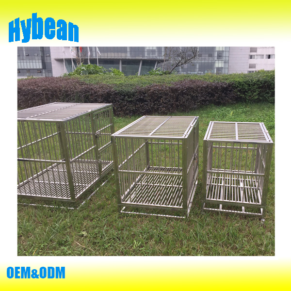 wholesale Price customized large stainless steel dog cage