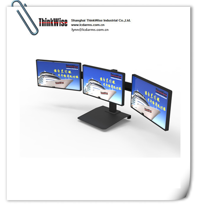 ThinkWise BL301 triple arms monitor stand free lcd holder