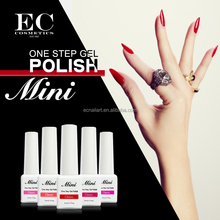30 days wearing 5 minutes removal one step gel polish OEM available