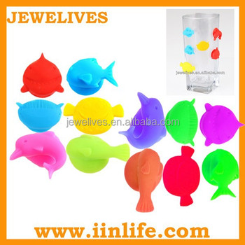 Small business ideas party accessory funny silicone glass marker