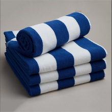 Chinese style!high-grade printing 100%cotton blue and white porcelain towel
