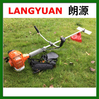 Best quality 41.5CC HUS443R gasoline grass trimmer /grass cutter garden tools