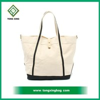 attractive eco- friendly organic cotton handled bag