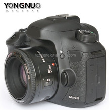 large aperture auto focus lens for DSLR camera yongnuo 50mm AF/MF lenses F/1.8 for Nikon digital cameras