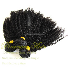 "Stock Clearance Sale! 14"" 18"" 22"" Malaysian Hair Extension Kinky Curly"