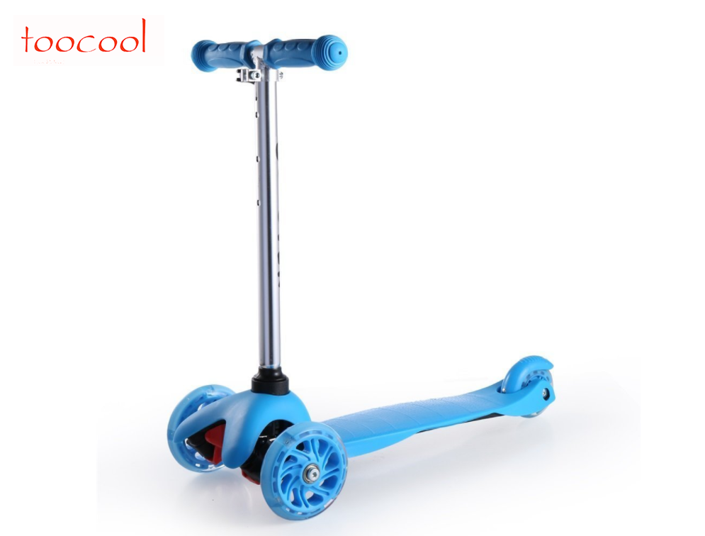 TK02-2 Wholesale High quality Three wheel Kids Foot Scooters Liftable Children Kick Scooter