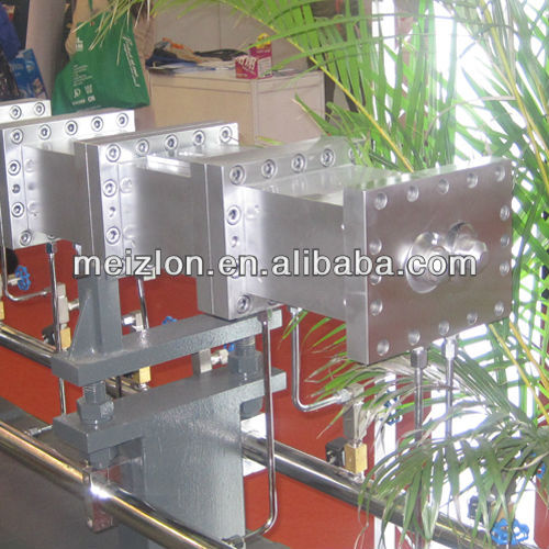 twin screw plastic pelletizing extruder