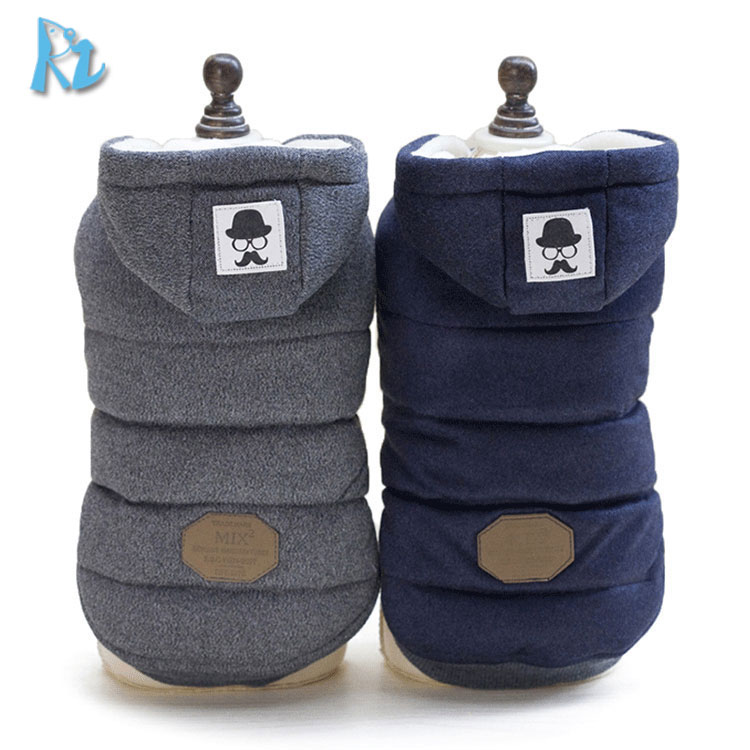 Winter Pet Clothes Designer Small Animals Dog Coat Dog Coats Quilted