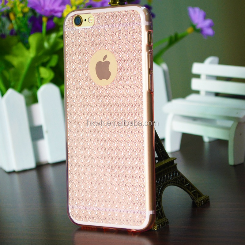 [Smart Times] 2016 Latest TPU Cover With diamond Luxury Case For Iphone 6