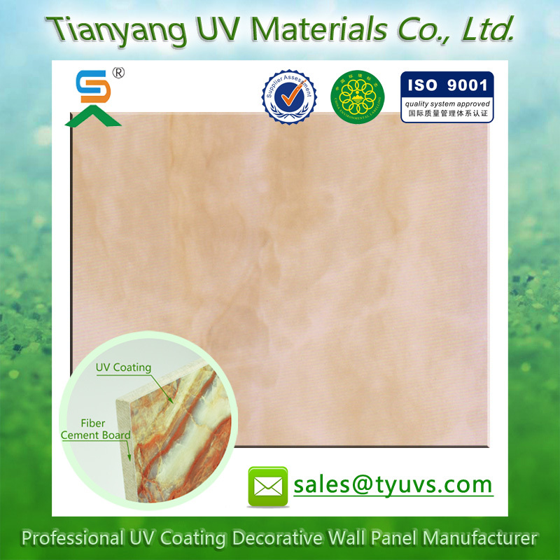 Non-Asbestos Fibre UV Coating Inside Carved Wood Wall Decor fiber cement board