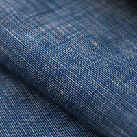 100% linen yard dyed fabric chambray for shirt
