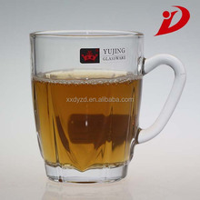 New brand yujing glassware/glass coffee mug