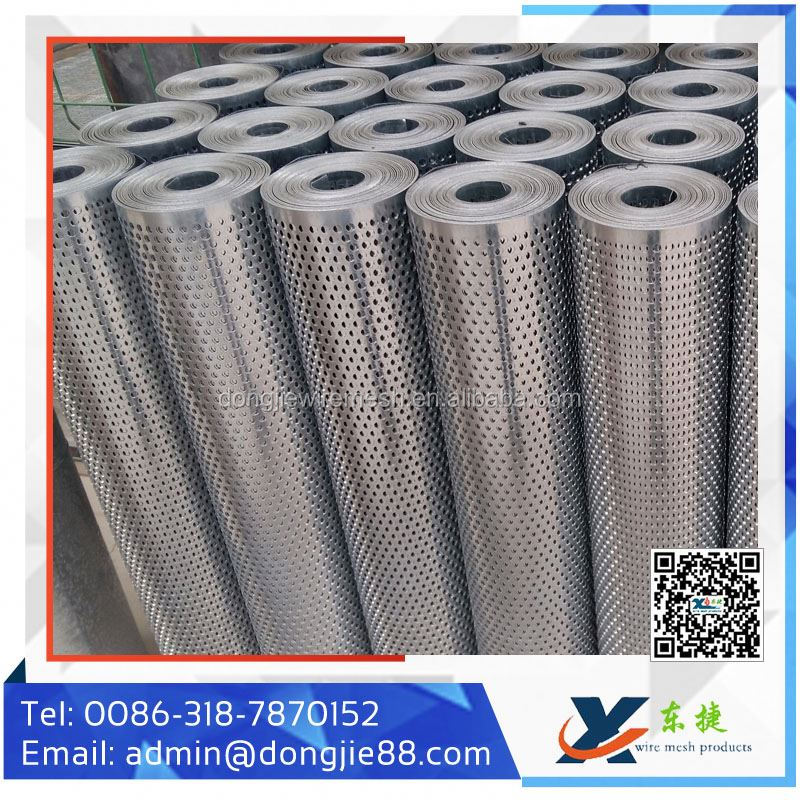 Decorative Embossed Aluminum Perforated Sheet Metal