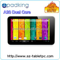 2013 Newest cheap tablet 7 inch Allwinner A20 Dual Core Android 4.2 tablet