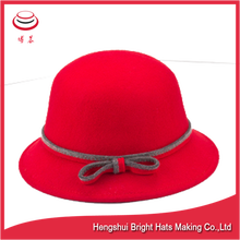 Wool felt bucket hat cloch hat Children Hats