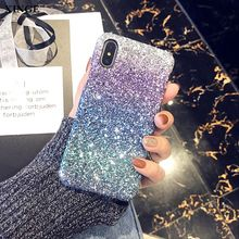 Fashion Bling Glitter Colorful Sequin Cell Phone Case For Girls For Iphone X