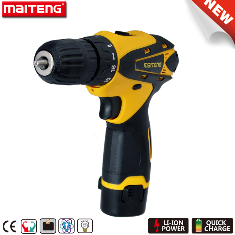 Lithium Battery Power Source 12V Industrial Cordless Drills