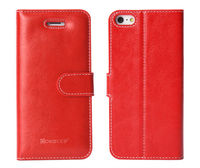 Book style leather case for mobile phone case for iphone 5s