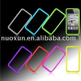 Hot sell new design TPU+PC mobile phone case for IPhone 4G