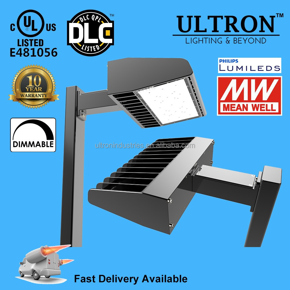 UL DLC 35W LED led parking lot lighting 10 Years Warranty