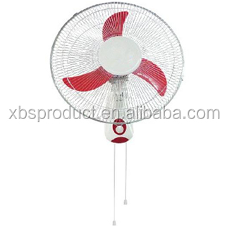 Shunde best seller 18 inch Wall mounted Electric fans 220v Wall Fan plastic blade