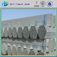 High quality 2 inch od steel pipe / galvanized mild steel water steel pipe