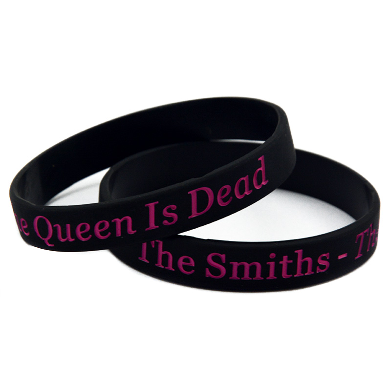 The Smiths - The Queen Is Dead Silicone Bracelet for Music Fans