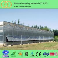 Galvanized Steel Frame Used Commercial Greenhouse