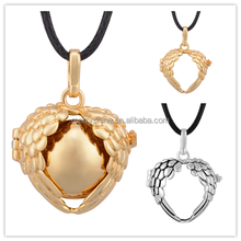 Cute Baby Christmas Gift Mexican Bola Pendants Angel Wing Cages Chime Ball Wholesale H244A21H244A17