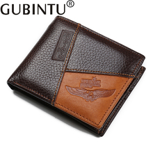 Personalized Genuine Leather Wallets for Men with Zip Coin Pocket