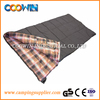 100% cotton flannel sleeping bag
